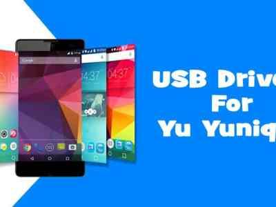 USB Drivers for Yu Yunique