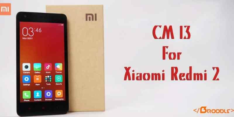 CM 13 for Xiaomi Redmi 2