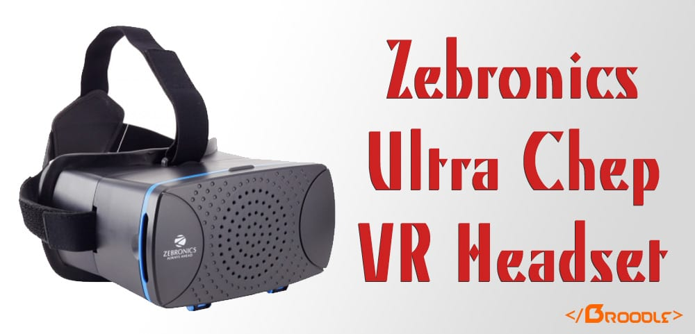 Zebronice VR Headset Launches