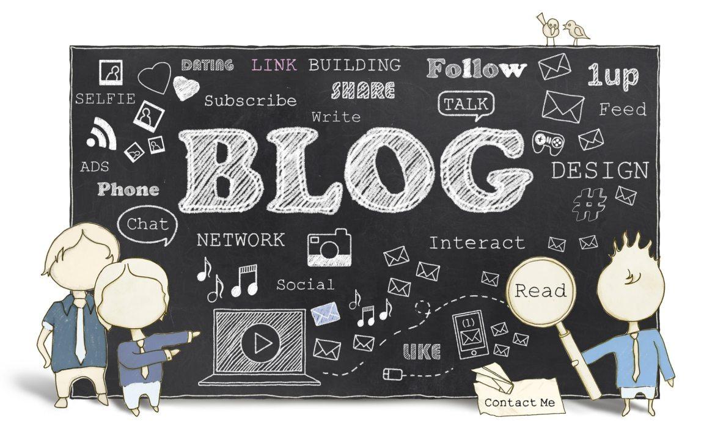 Words of Social Media and Blog on Blackboard