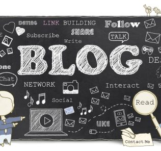 Words of Social Media and Blog on Blackboard