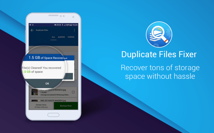 Duplicate File Fixer Android App