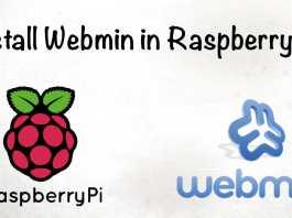 Webmin Installation in Raspberry Pi
