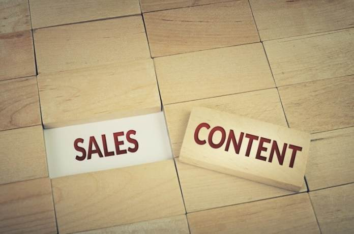 using content marketing with sales-can increase the flow of customers