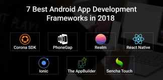 Best Android App Development Frameworks in 2018