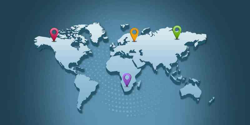 determinate the geolocation of an ip address