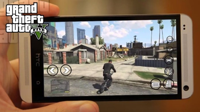 GTA V on Mobile