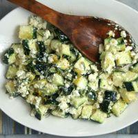 Greek-Inspired Zucchini Salad