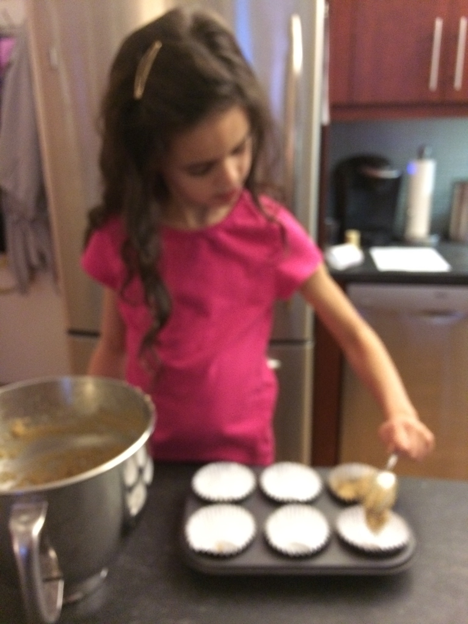 Kids love to help bake!