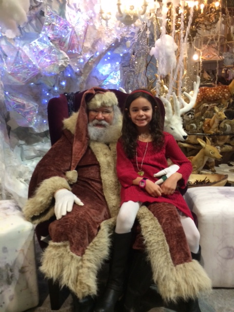The most magical Santa Claus at ABC Home