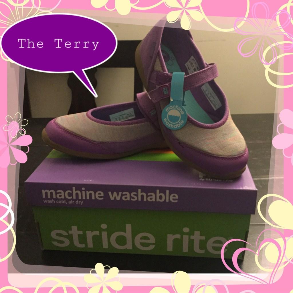 The Stride Rite Terry Maryjane