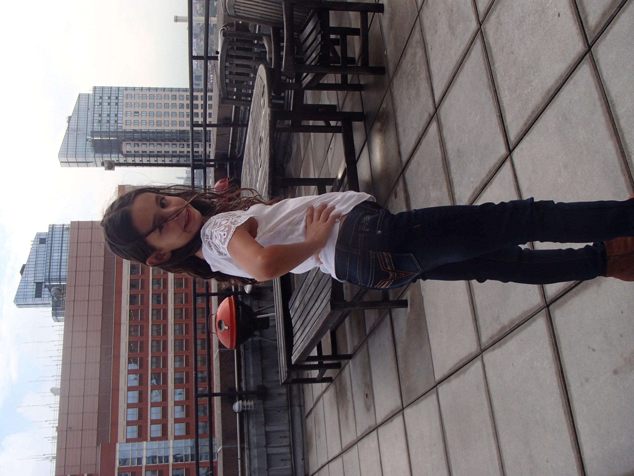 Loving her new VIGOSS Jeans