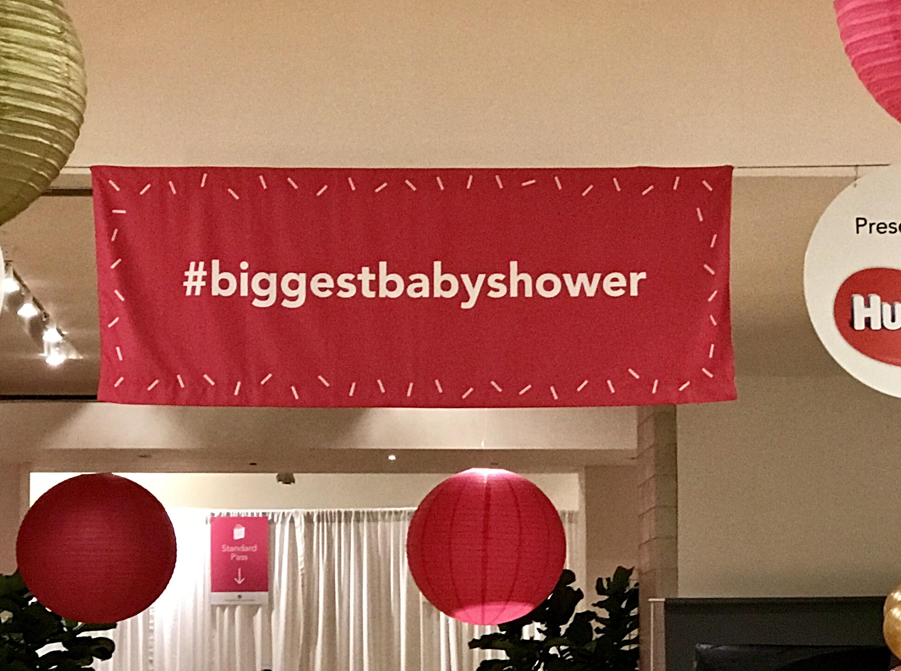 Big City Moms Biggest Baby Shower #biggestbabyshower