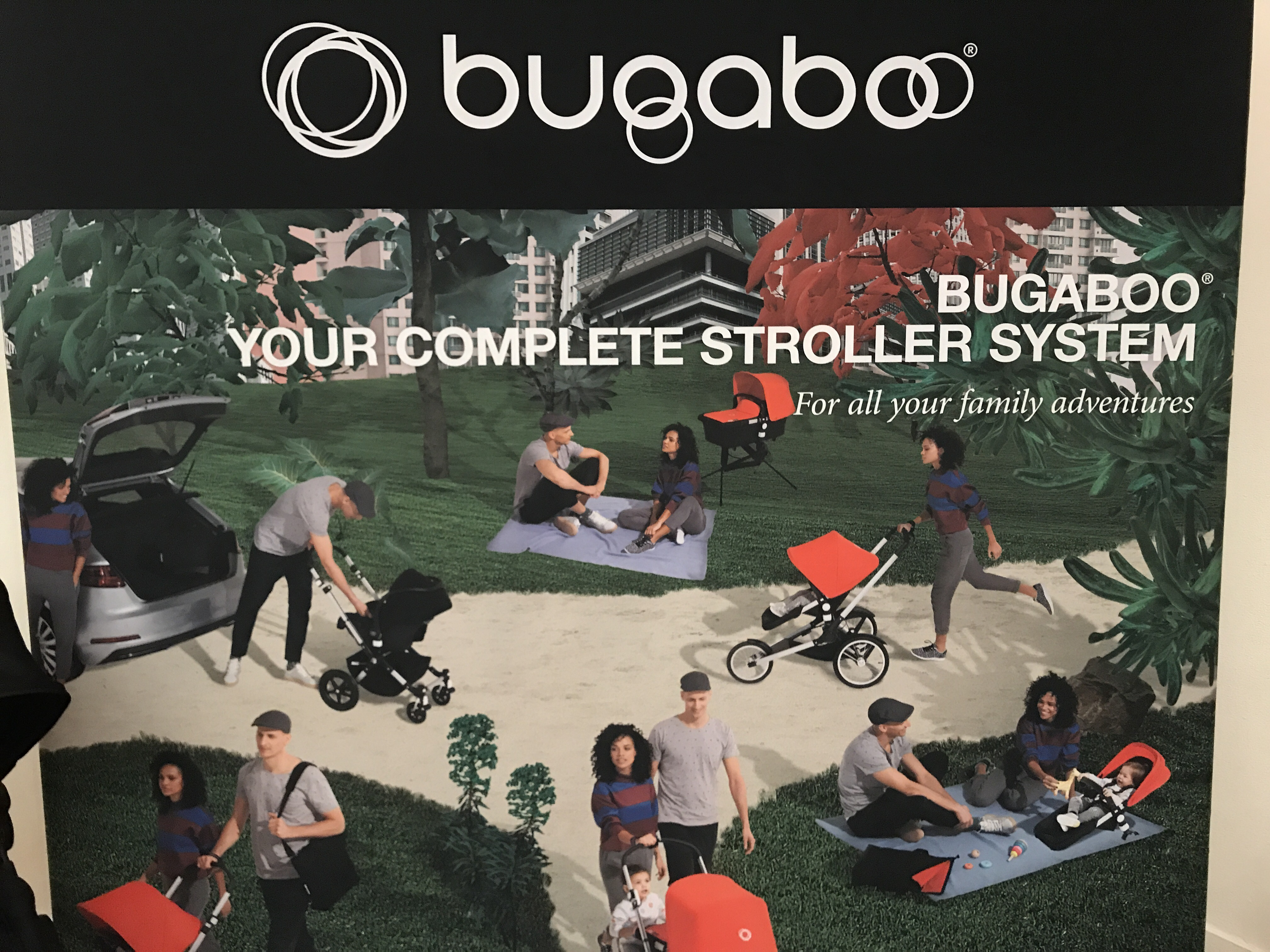 Bugaboo featured at the Big City Moms Biggest Baby Shower