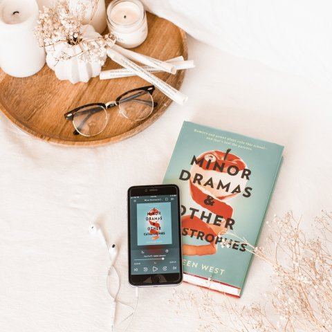 Minor Dramas & Other Catastrophes by Kathleen West / a timely novel about a school and fake social media rumors