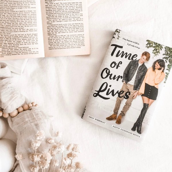 Time of Our Lives by Emily Wibberley, Austin Siegemund-Broka / coming of age novel