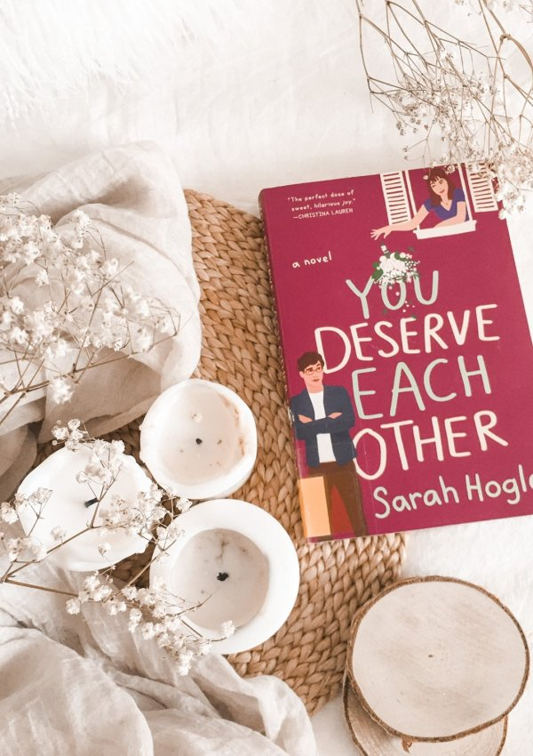BOOK REVIEW: You Deserve Each Other by Sarah Hogle / enemies to lovers to the extreme