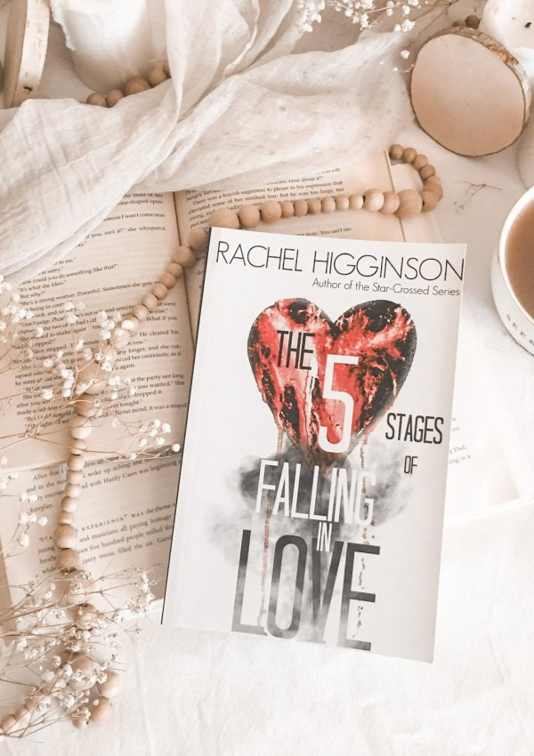 The Five Stages of Falling in Love by Rachel Higginson / a one of a kind love story!