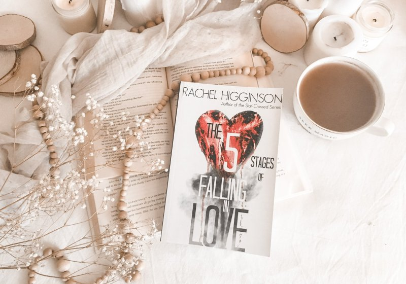 The Five Stages of Falling in Love by Rachel Higginson