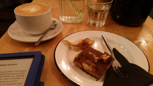 Cake and coffee at Lewis's, Brum Diaries