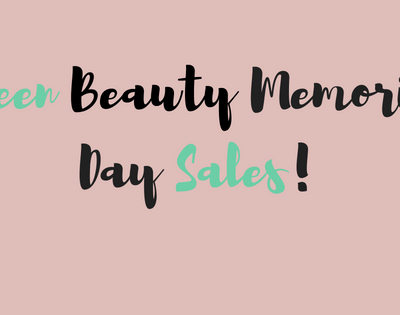 Green Beauty Memorial Day Sales You Won't Want to Miss!