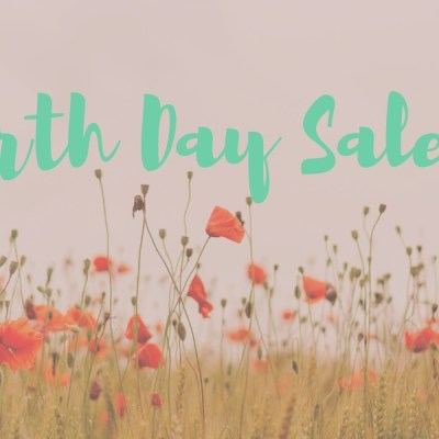 Earth Day Sales 2019!