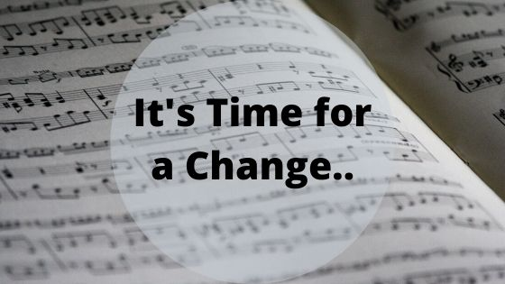It's Finally Time to Officially Make the Change…