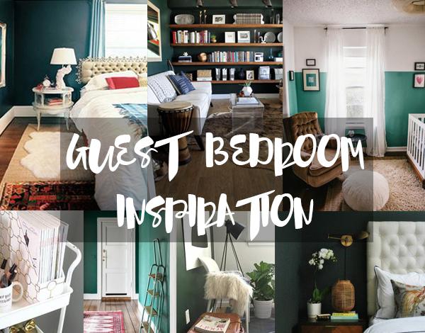 The Brunette One Guest Bedroom Design Inspiration