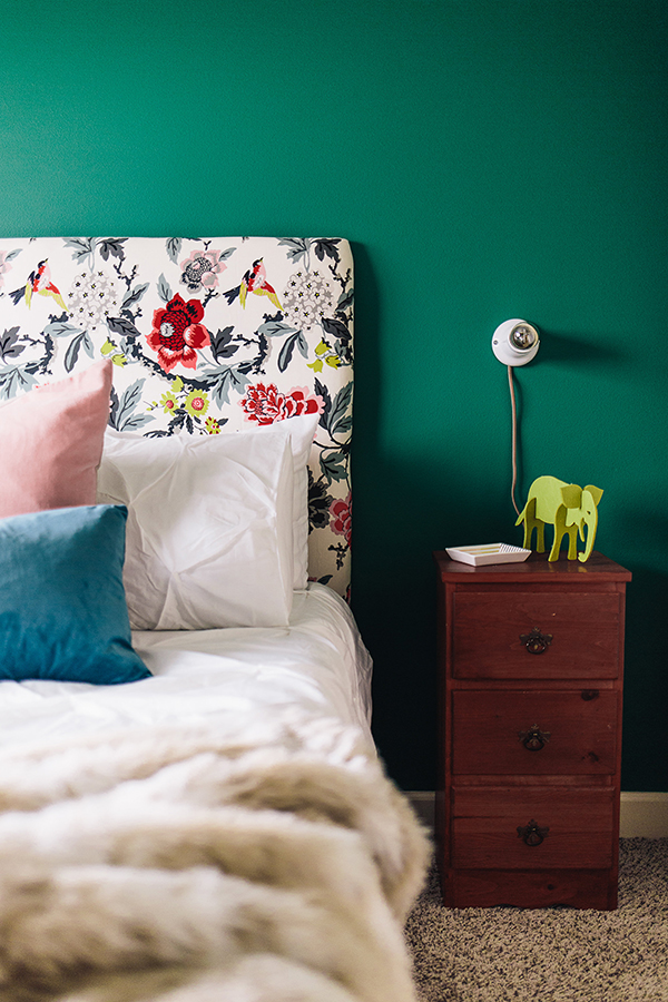 The Brunette One Guest Bedroom Reveal