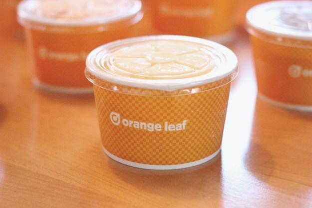 The Brunette One Orange Leaf Pop-Up Party Box_8