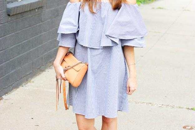 The Brunette One_Off The Shoulder Dress_4
