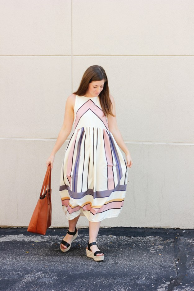 The-Brunette-One_Romwe_Midi-Dress_3
