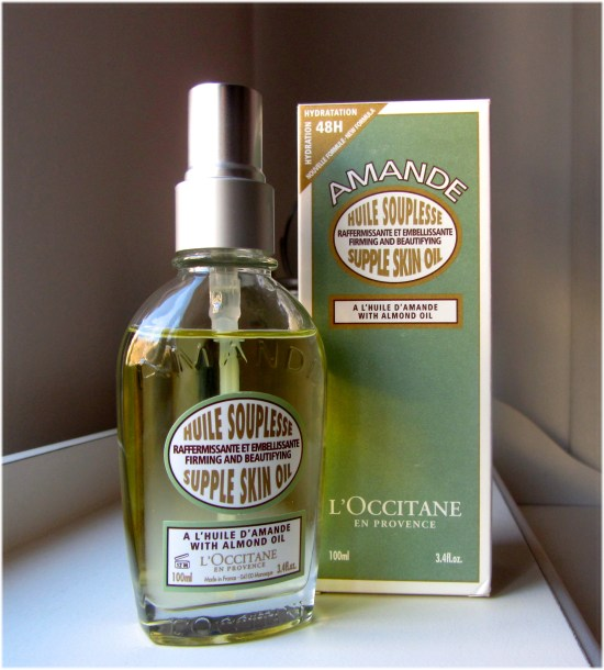 L'occitane Supple Skin Oil bottle 2