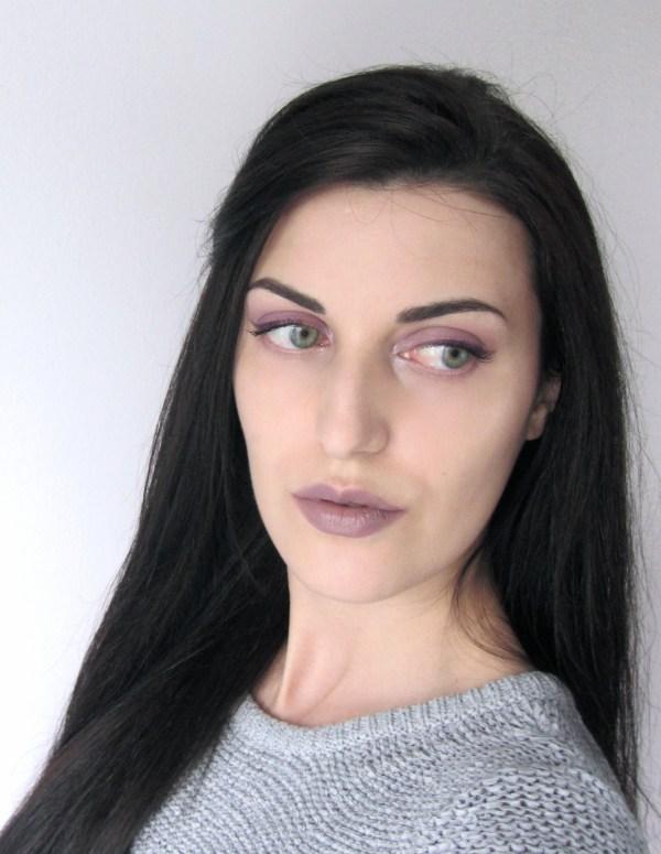 Kiko 524 Taupe Lipstick Look 7