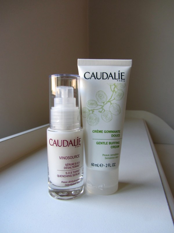 Caudalie SOS Serum And Gentle Buffing Cream
