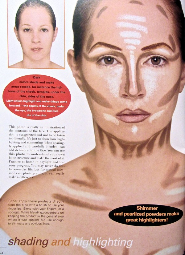 Kevyn Aucoin Making Faces Contouring 1