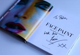 Lisa Eldridge autogram i posveta