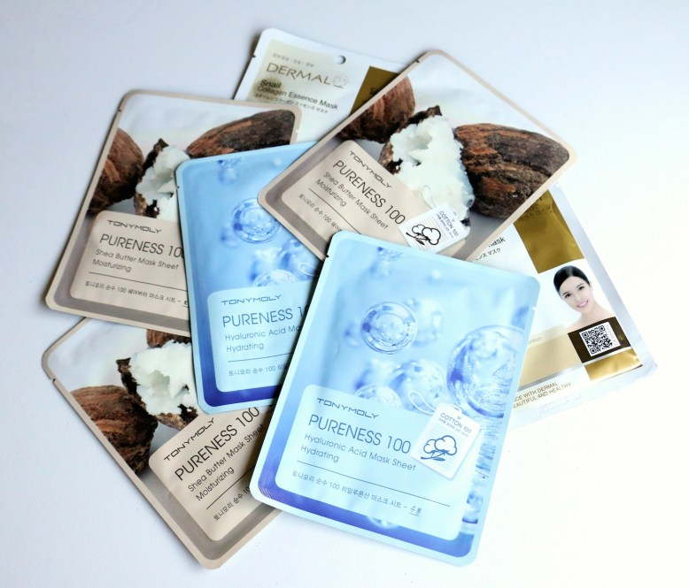 korean-sheet-masks-dermal-and-tony-moly