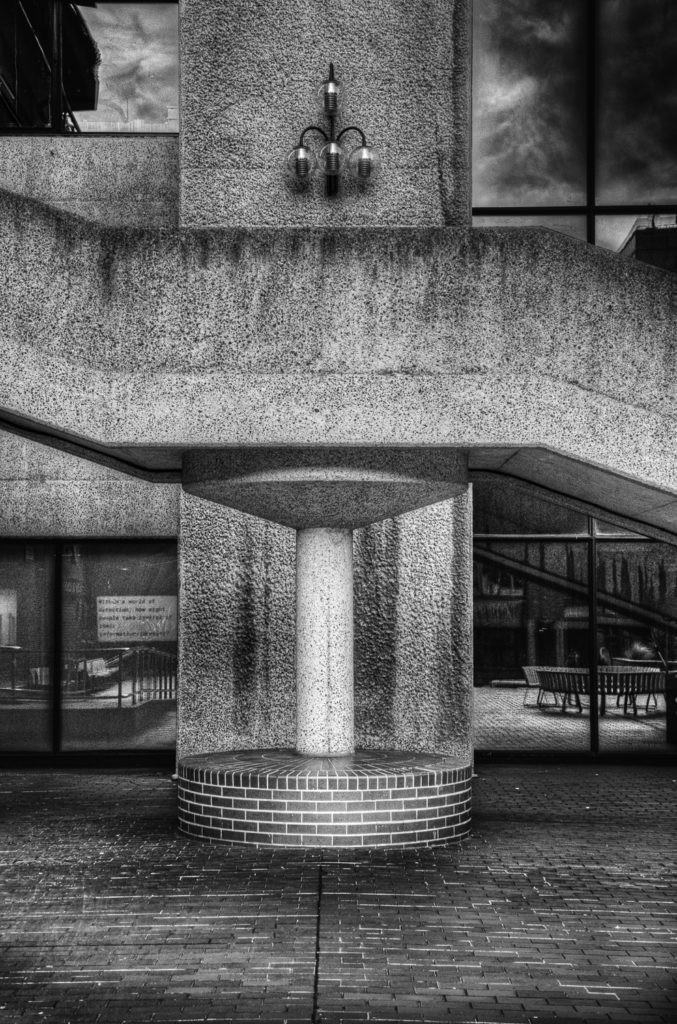 Barbican stairs
