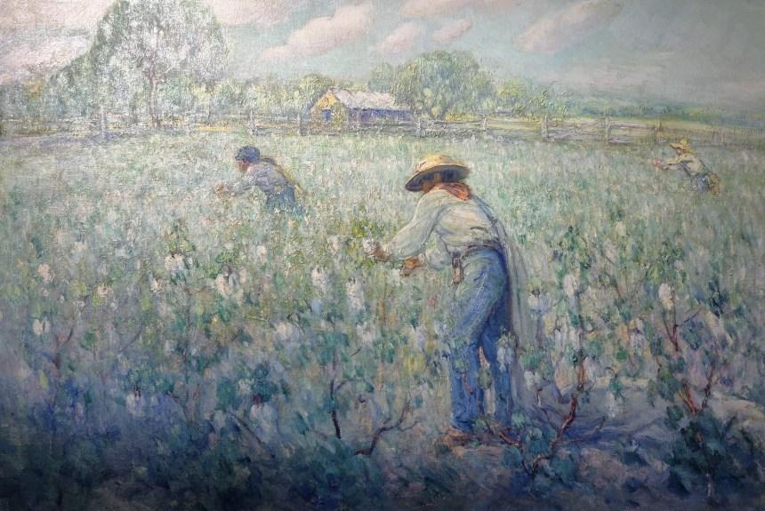 Picking Cotton by Dawson