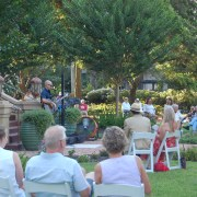 Wine and Music in the Garden: A Socially Distant Social