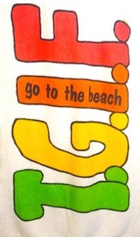 Beach Towel Circa 1980