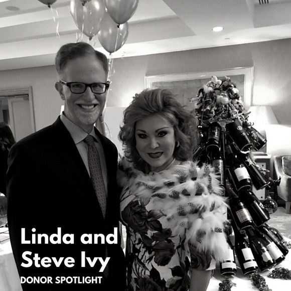 Donor Spotlight: Linda and Steve Ivy