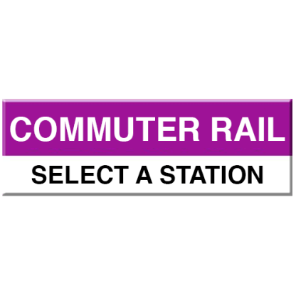 Commuter Rail Magnet (Select Station)