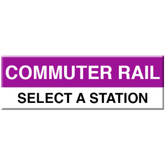 Commuter Rail Magnet (Select Station)