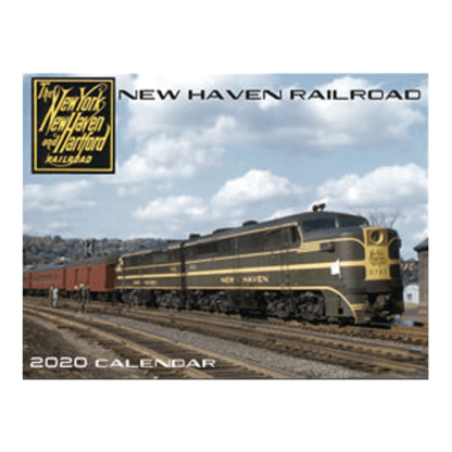 New Haven Railroad 2020 Calendar