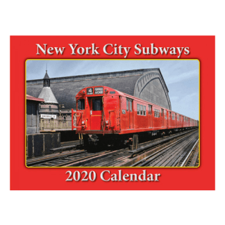 NYC Subways 2020 Calendar