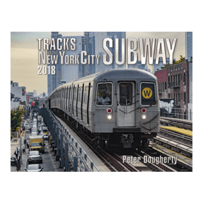 Tracks of the NYC Subway 2018