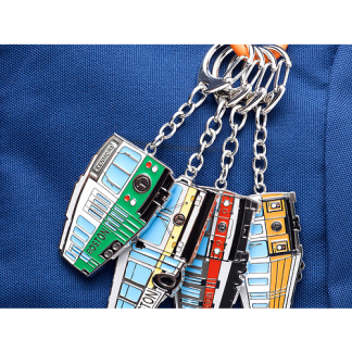 MBTA Vehicle Keychains