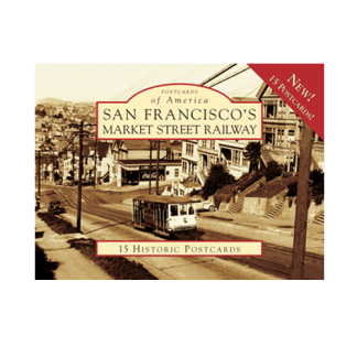 San Francisco's Market Street Railway Postcard Pack